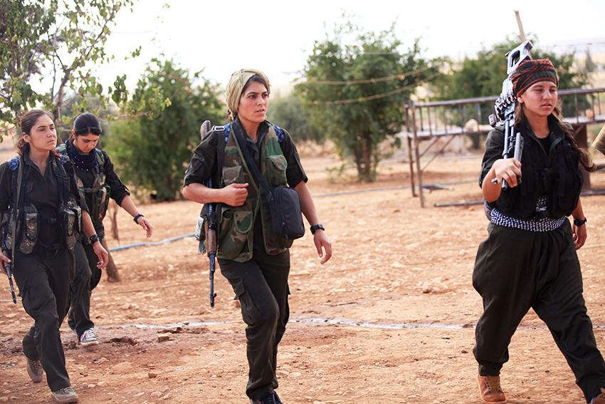 """Meryem Kobane: """"A resistência de Kobane é a luz para um novo Oriente Médio e uma nova sociedade"""""""