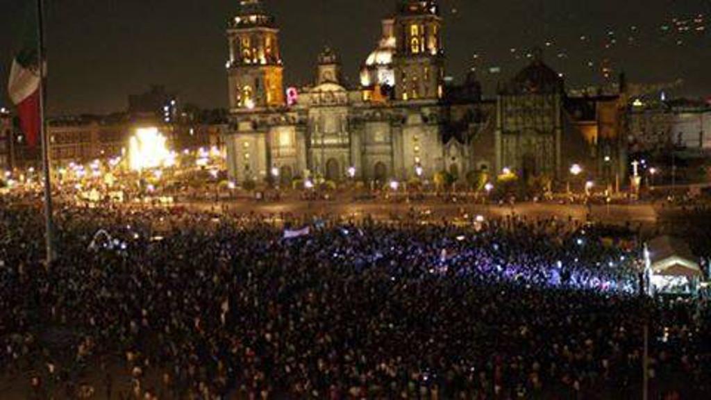 Continua a mobilização pelos 43 estudantes mexicanos desaparecidos em Ayotzinapa