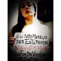 """""""Não levante o dedo pra mim!"""" – Juntas no 25 de novembro: Dia de combate à violência contra a mulher"""