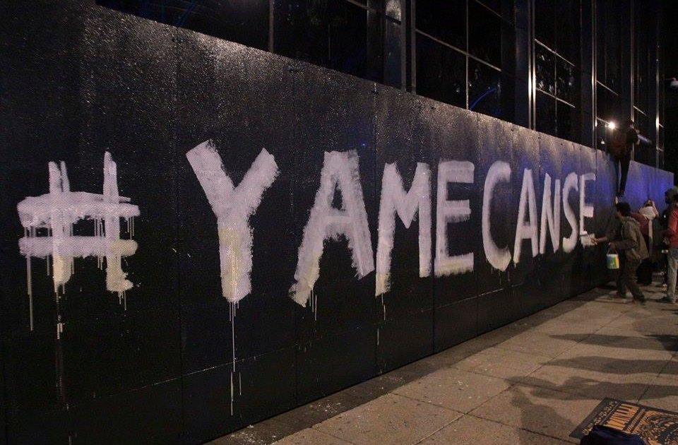 """México: """"Se não há justiça para o povo, que não haja paz para o governo!"""""""