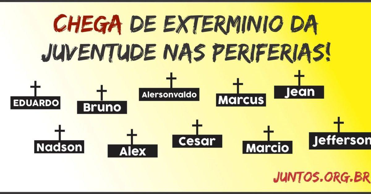 A luta continua: pelo fim do extermínio da juventude nas periferias do Pará