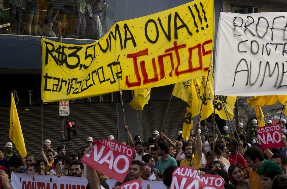 2º protesto contra o aumento da tarifa demonstra a força da juventude nas ruas