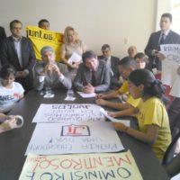 No Pará os estudantes deram seu recado ao Ministro Cid Gomes