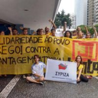 Os gregos não estão sozinhos! Milhares se manifestam no mundo inteiro contra a chantagem da Troika!
