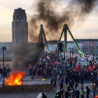 #18M: Um grito anticapitalista em Frankfurt