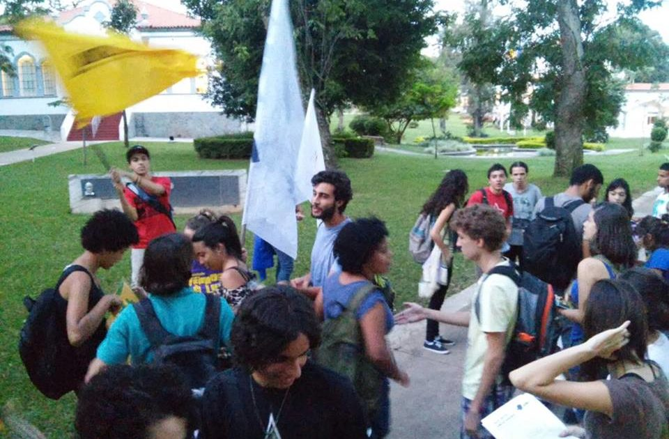 #26M na PUC-Minas: Estudantes deixam o seu recado em defesa do direito à educação!