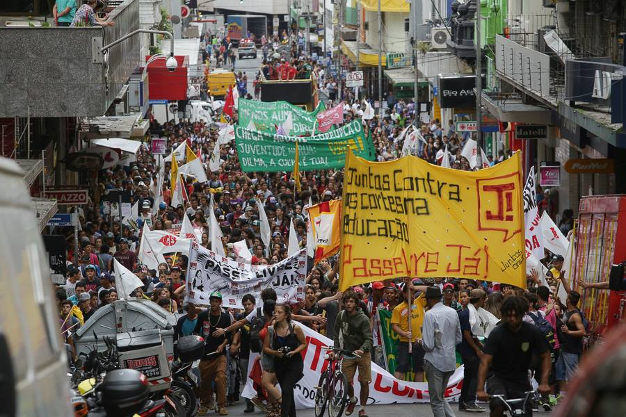 #26M: A juventude se movimenta no Brasil inteiro contra o ajuste e por mais direitos!