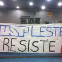 Estudantes da USP Leste em defesa do espaço estudantil: ''Direção do diálogo'', uma ova!