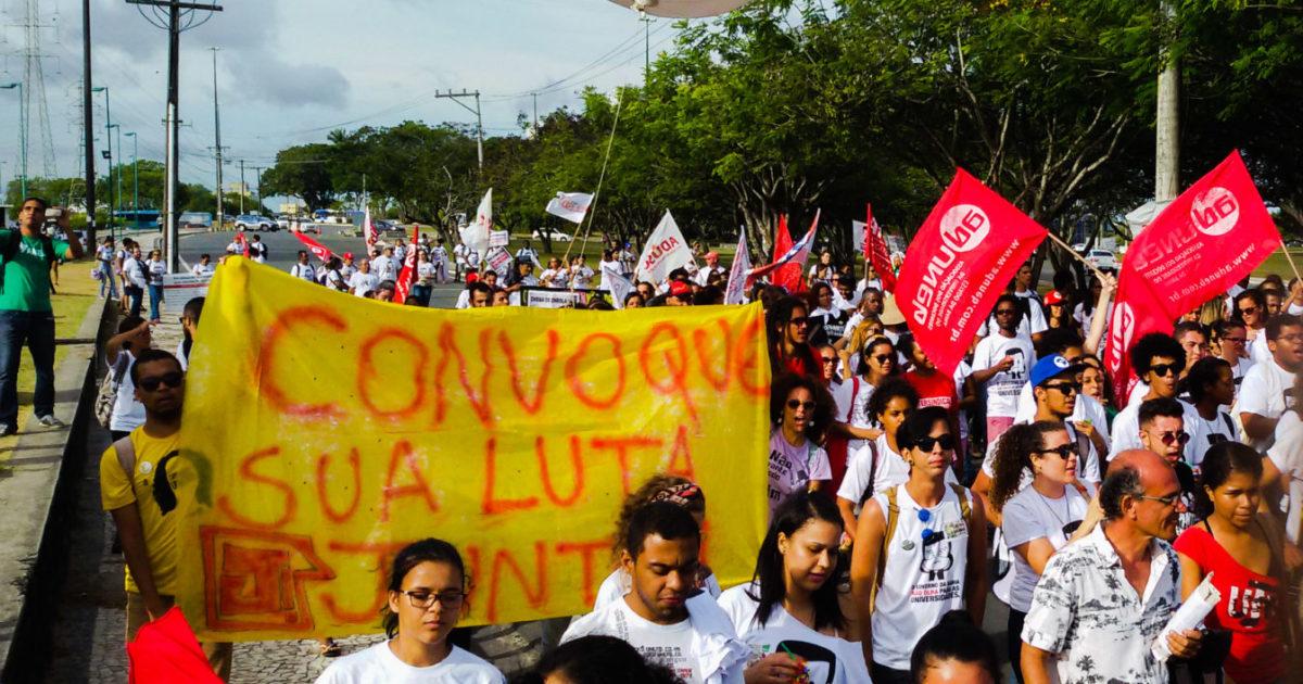 Estudantes baianos em luta: a resposta necessária à pseudo pátria educadora