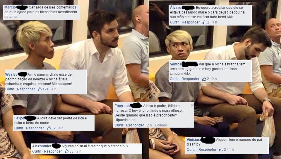 O casal gay do metrô e o preconceito contra afeminados