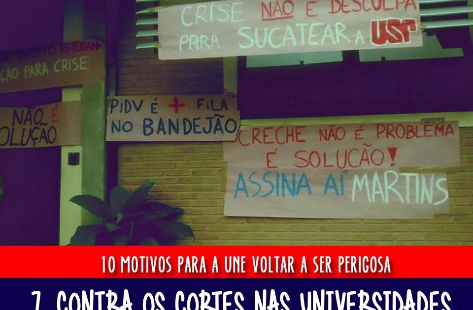 Estudantes da USP já decidiram: a UNE precisa voltar a ser perigosa!