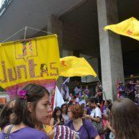 Juntas na 5ª Marcha das Vadias em SP: Basta de mortes por abortos clandestinos! Aprovação do PL 882/15! #ForaCunha!