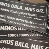 Luto com os professores do Paraná