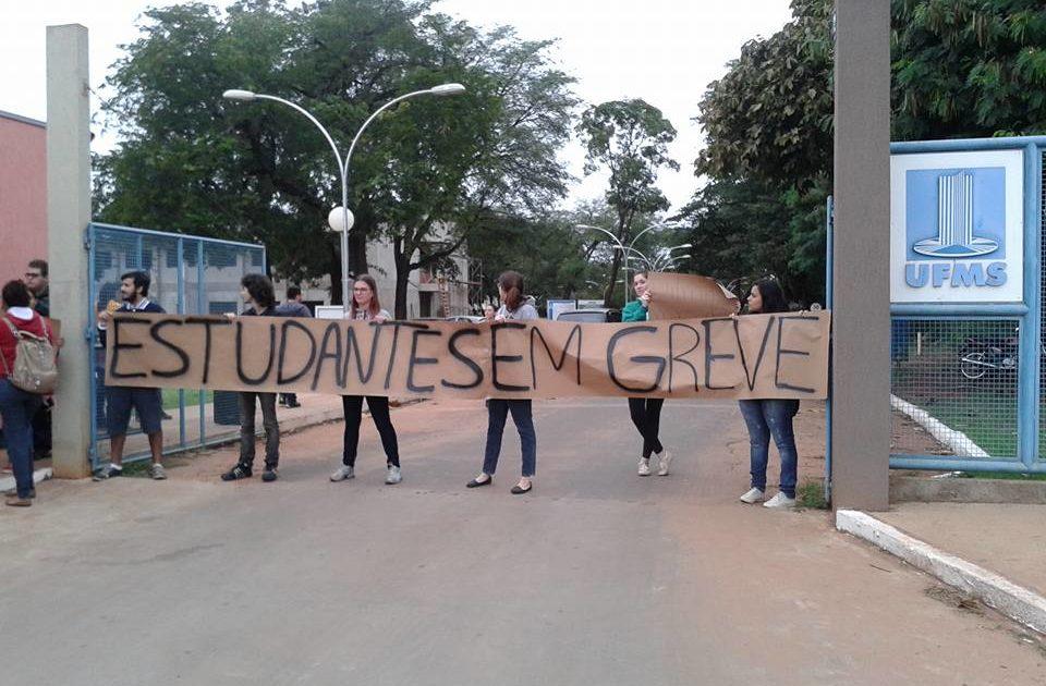 Manifesto Estudantil de Deflagração de Greve na UFMS