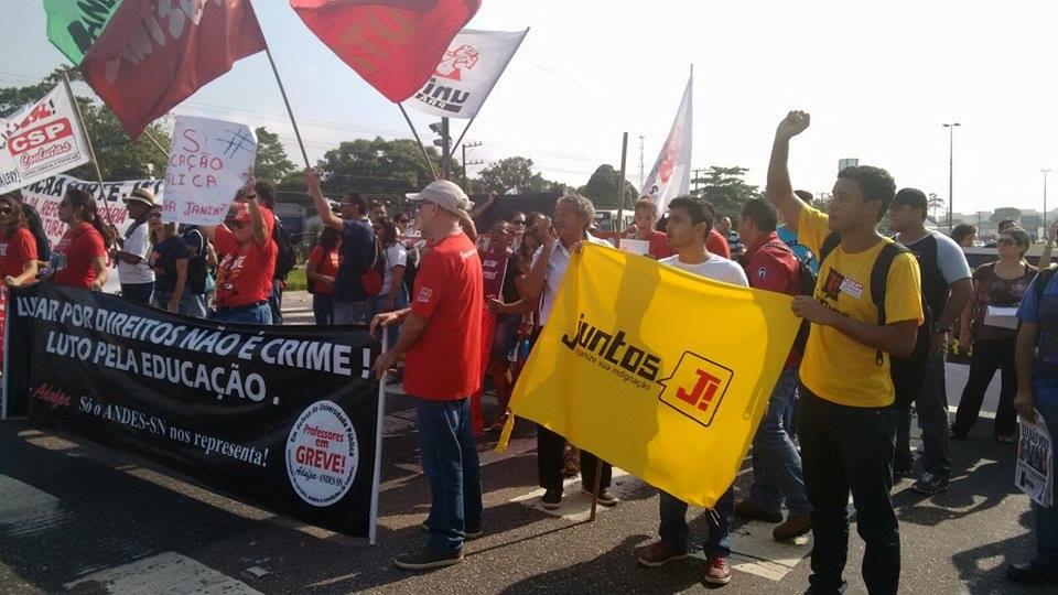Juntos precisamos fortalecer as greves e barrar os ajustes de Dilma