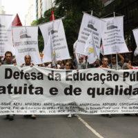 A educação é pública e GRATUITA! Contra a PEC 395!