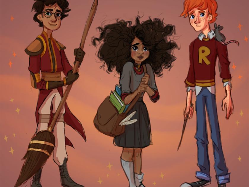 Hermione negra e hegemonia branca nas artes