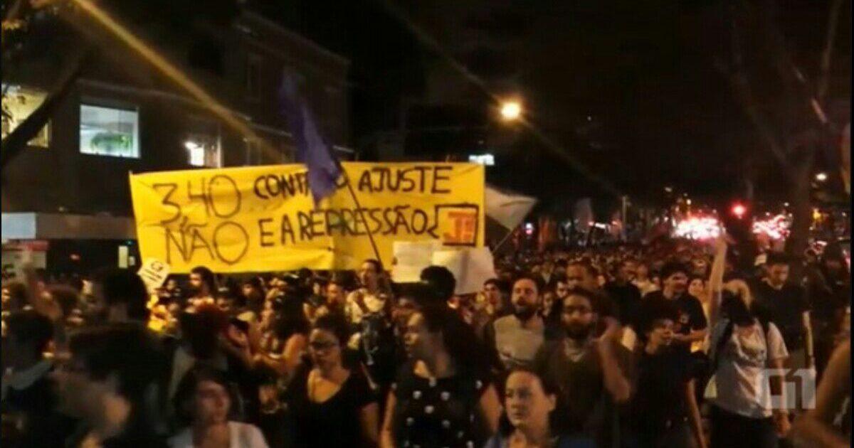 Crise do governo Pimentel e mais ajuste pra juventude e trabalhadores: nossa luta é uma só