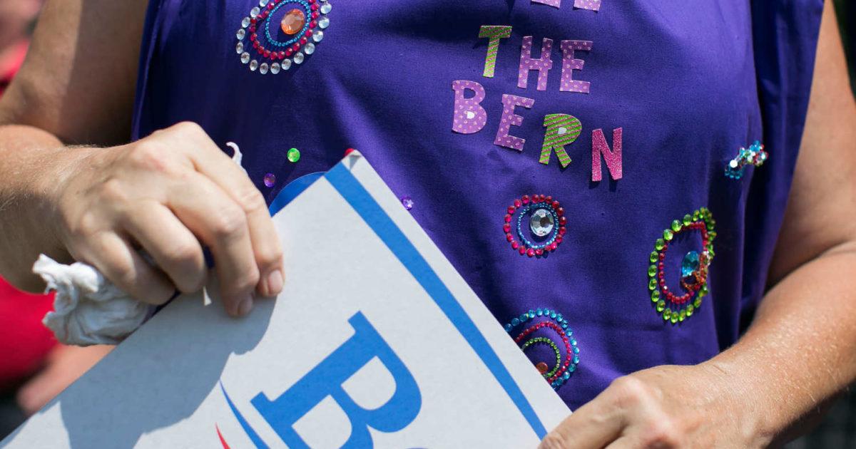Uma onda de jovens mulheres está impulsionando a candidatura de Sanders