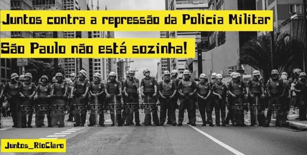 PMS e a repressão policial