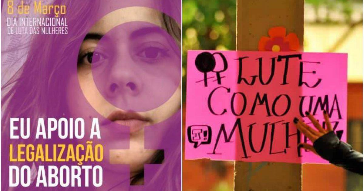 Manifesto: Eu Apoio a legalização do aborto!