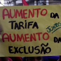 Contra o aumento em São José do Rio Preto