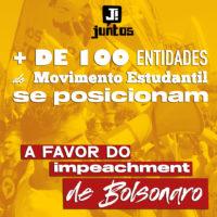 Já chega, Bolsonaro genocida! Nós vamos ficar em casa e te derrubar!