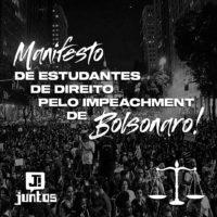 Manifesto: Estudantes de Direito pelo impeachment de Bolsonaro