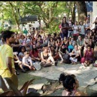 Pela democracia e participação estudantil na UNIRIO