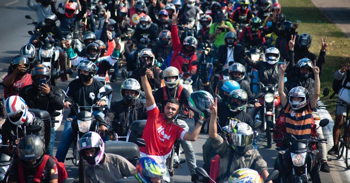 Dia histórico: #BrequeDosAPPs, o levante contra a precarização!