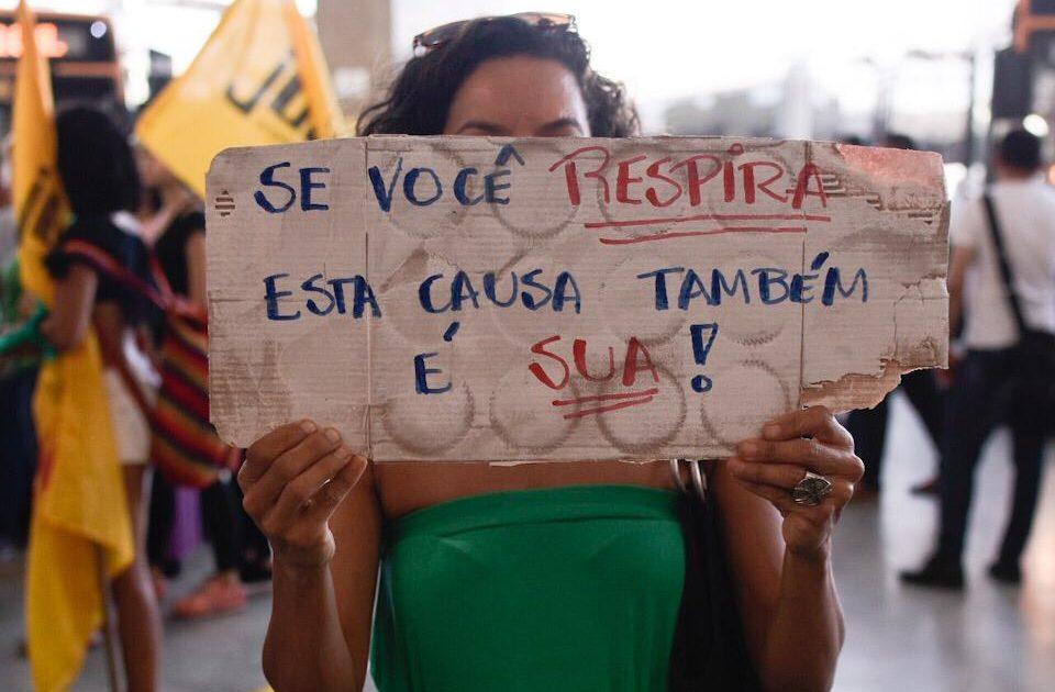 Meio ambiente fica, Ricardo Salles sai! #ForaSalles