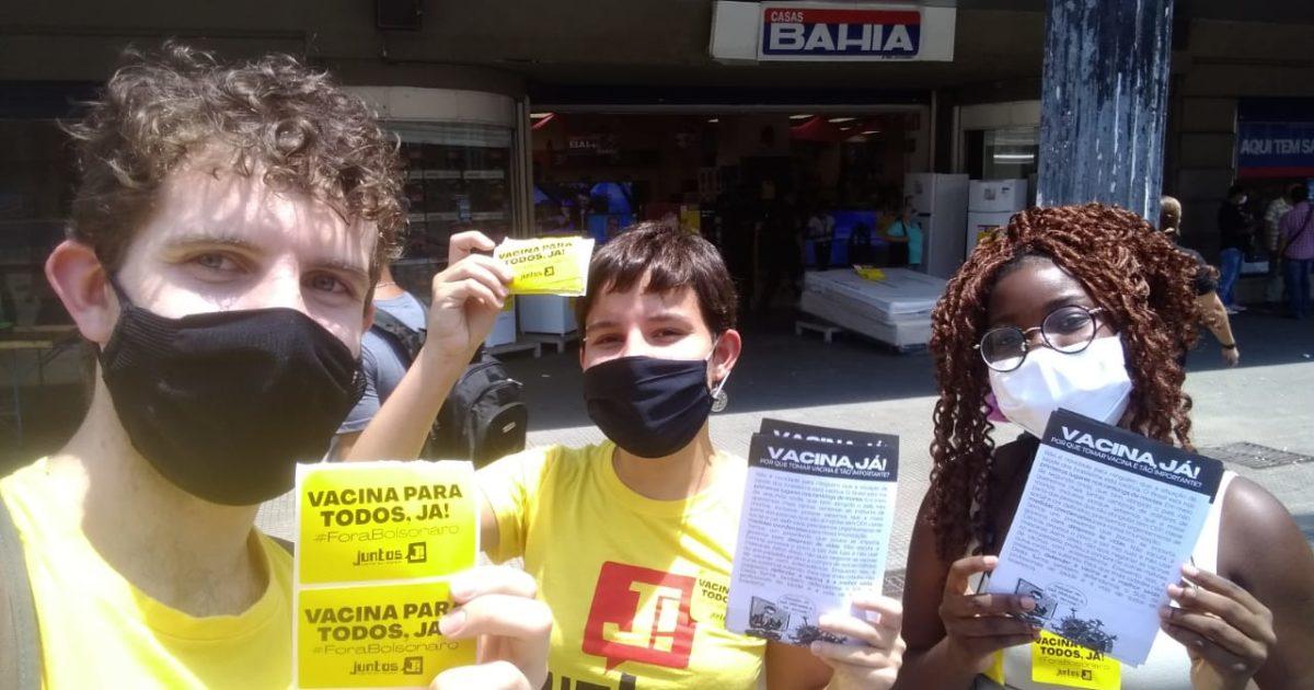 A batalha por #VacinaParaTodos também é uma luta da juventude: conheça as Brigadas Pela Vacina
