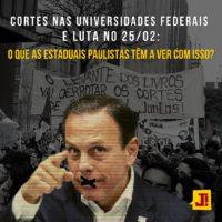 Cortes nas Universidades Federais e luta no 25/02: O que as Estaduais Paulistas têm a ver com isso?