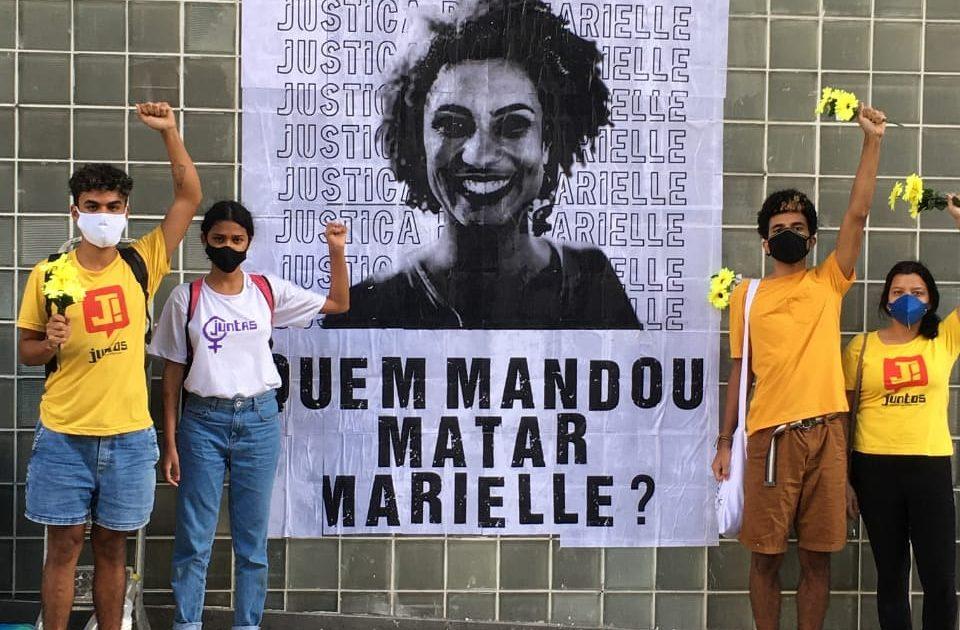 3 anos sem Marielle: seu legado floresce em luta!