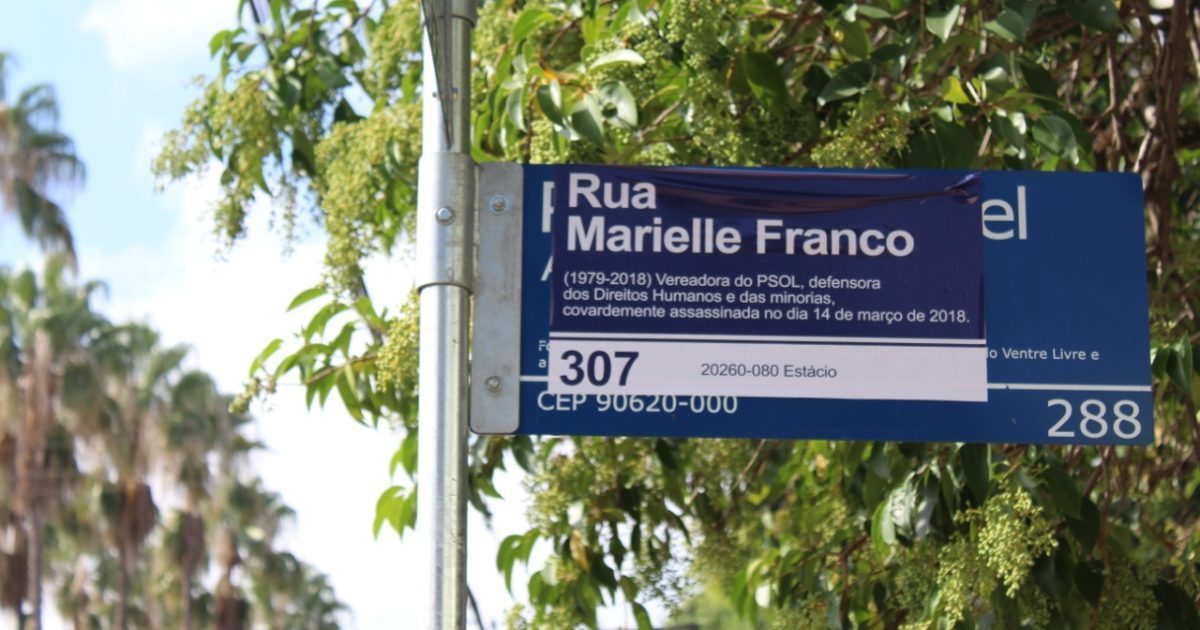 Em Porto Alegre, Praça Princesa Isabel vira Praça Marielle Franco