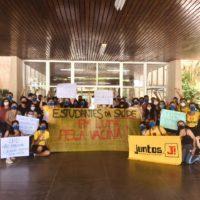 Estudantes da saúde da UFPA em luta pela vacina