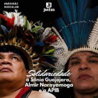 Toda Solidariedade a Sônia Guajajara, Almir Narayamoga e a APIB