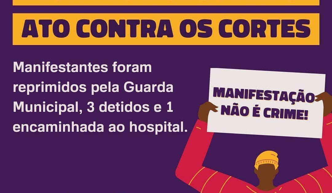 Nota do DCE UFRGS sobre a prisão de estudantes na visita do Ministro da Educação em Porto Alegre