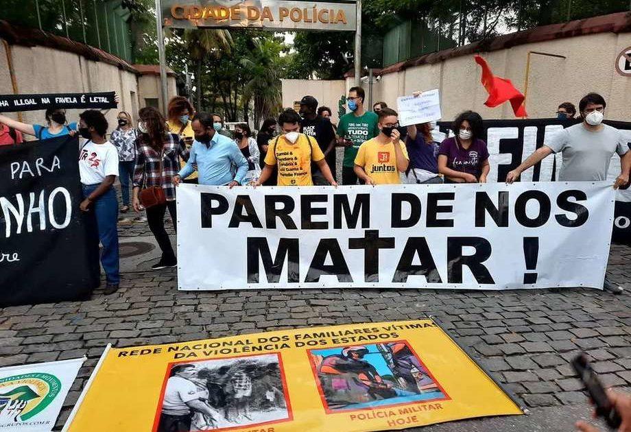As vidas do Jacarezinho importam? Basta de genocídio do povo negro! A periferia quer viver!