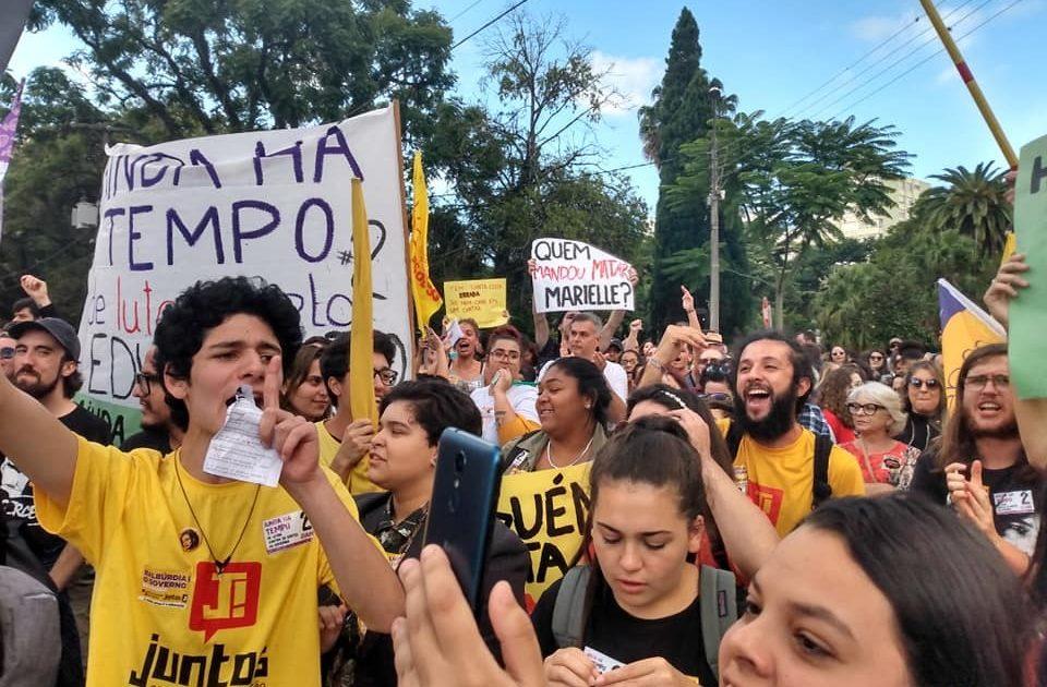 Vamos às ruas de Pelotas no dia 29 de maio em defesa da UFPEL e do IF-Sul!