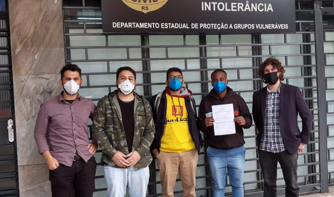 DCE da UFRGS denuncia repressão e racismo em protesto durante visita do Ministro da Educação a Porto Alegre