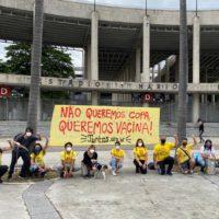 13J: Juventude na rua contra a Copa e por vacina!