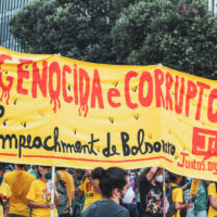 A casa tá caindo, mas não cai de podre: dia 13 nas ruas para derrubar Bolsonaro!