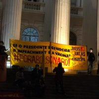 10 anos do Juntos! Brigadas da juventude mobilizando pelo Fora Bolsonaro