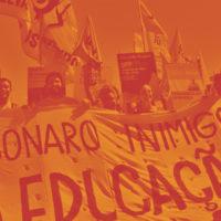 Estudantes contra Bolsonaro