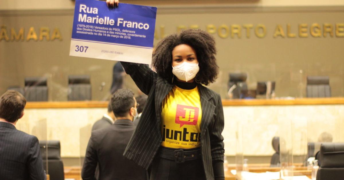Fran Rodrigues assume mandato antirracista em Porto Alegre