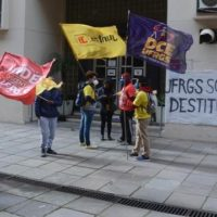 Conselho Universitário da UFRGS pede a destituição do Reitor interventor