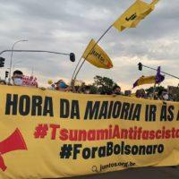 O desafio do movimento estudantil de construir o Tsunami Antifascista pela queda de Bolsonaro