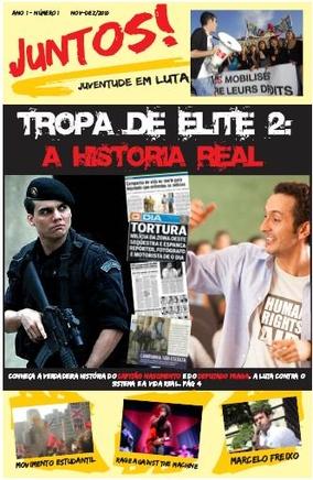 Capa da primeira edição do jornal Juntos!