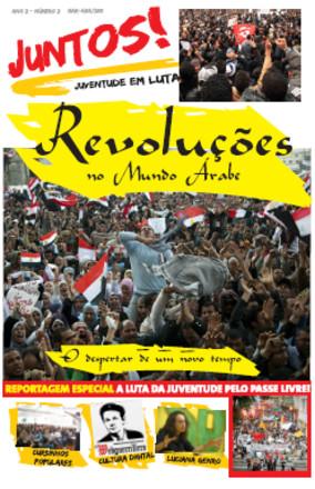 Capa da segunda edição do jornal Juntos!